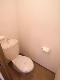 清潔感のある様式トイレ☆