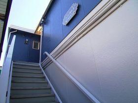 階段部~塗装済みです!