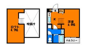 ロフト付きデザイナーズアパート!