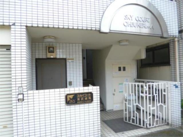 スカイコート東武練馬エントランス
