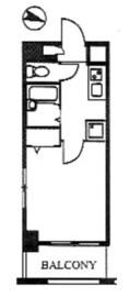 スカイコート本郷東大前第310階Fの間取り画像
