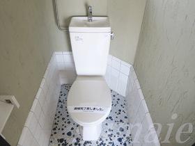 清潔感あるトイレですよ♪