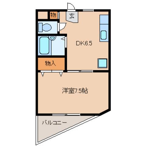 洋室7.5 DK6.5