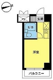 スカイコート八王子第36階Fの間取り画像