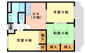 3DK 56.85平米 4.7万円 愛媛県伊予市下吾川731