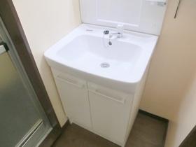 独立した使いやすい洗面台で嬉しいですね(*^_^*)