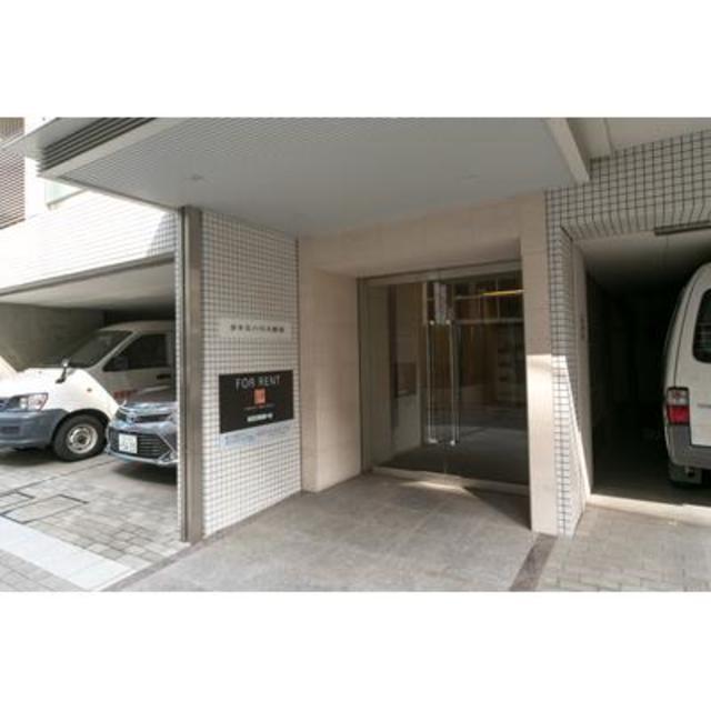 タキミハウス渋谷エントランス