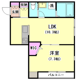 Liber Garden 401号室