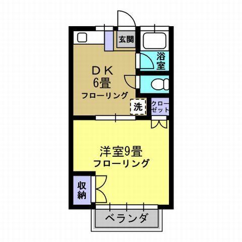 DK6帖 洋室9帖