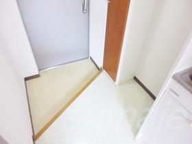 下駄箱付きの玄関です