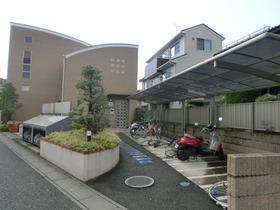 屋根付き駐輪場です!