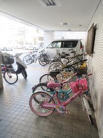 駐輪スペース!