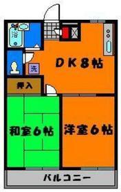 一般的な2DKタイプ☆