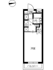 スカイコート横浜南太田2階Fの間取り画像