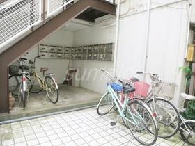 自転車は、こちらに置かれています☆