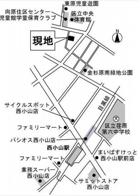 ビューノ目黒本町案内図
