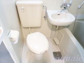 ユニットバスのトイレです☆