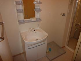 洗面スペースもありますよ☆