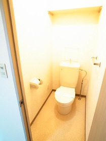 清潔感のある洋式のトイレですっ!