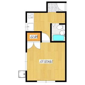 居室8.0帖あります!キッチン収納あります。