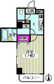 クレアール多摩川 301号室