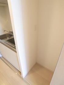 冷蔵庫はここ!