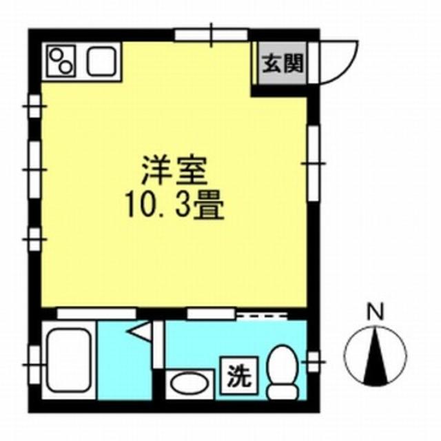 洋室10.3帖