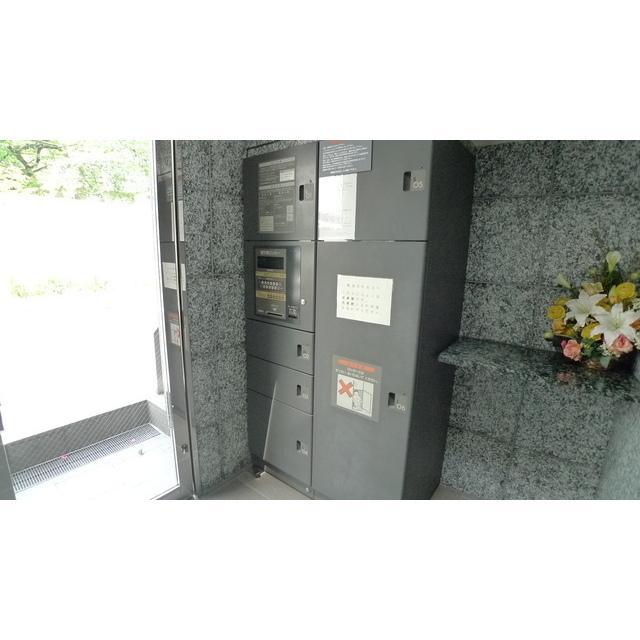 ボヌール都立大学壱番館エントランス