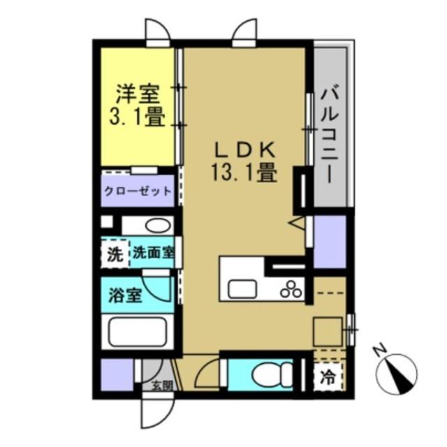 LDK13.1帖・洋室3.1帖