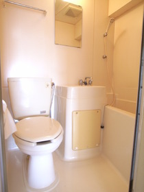 トイレは綺麗に清掃済みです