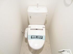 ウォシュレット完備のおトイレ♪