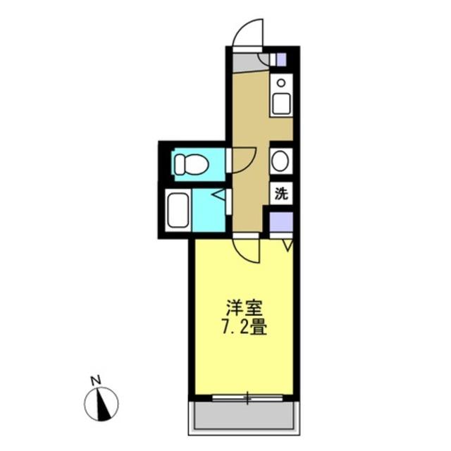 洋室7.2帖