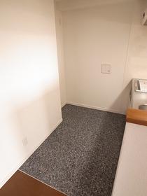 キッチン裏のスペース