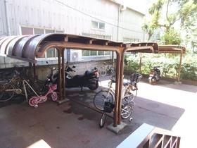 自転車、バイク置けます!