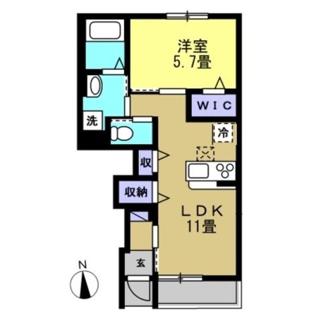 LDK11帖 洋室5.7帖