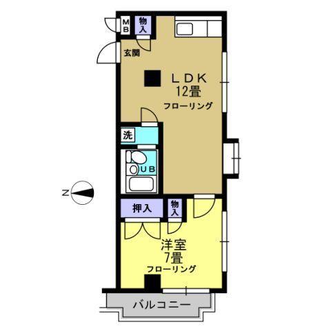 洋7帖 LDK12帖
