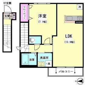 ドエル大井 201号室