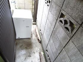 こちらが洗濯機置場です♪