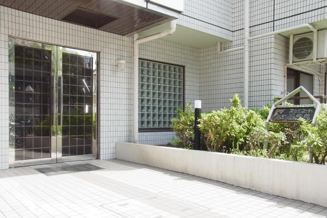 スカイコート宮崎台エントランス
