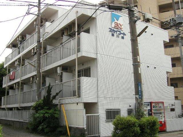 スカイコート新川崎外観