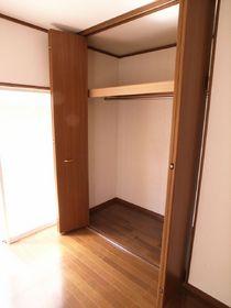 洋室2部屋にしっかりの収納!!!