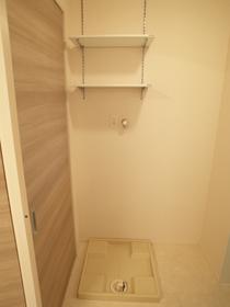 室内洗濯機置き場☆ 洗剤の置き場にも困りません!