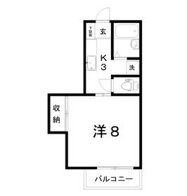 アパート/高知県高知市栄田町3丁目5ー8 Image