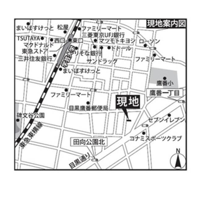 STEPS鷹番案内図