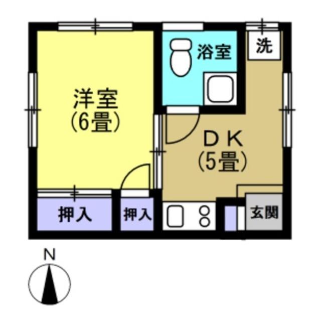 DK5帖、洋室6帖