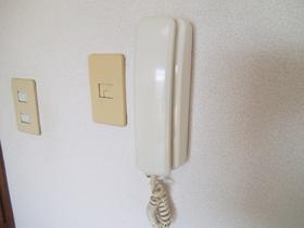 インターホン付きお部屋です!
