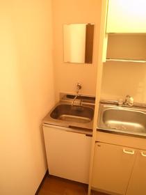 洗面台もあります!