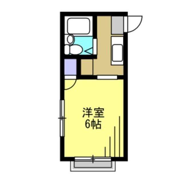 キッチン/洋室6帖
