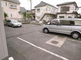 駐車場も敷地内です♪
