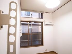 室内物干し完備で雨の日の洗濯もバッチリ